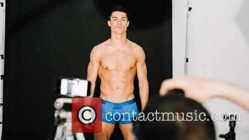 Cristiano Ronaldo Colour Splash Photoshoot For New SS16...