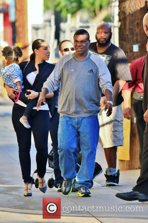 Tracy Morgan and Megan Wollover 3