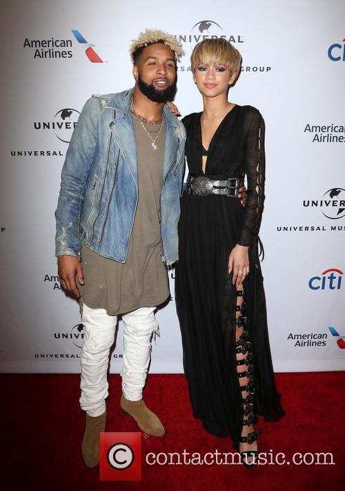 Odell Beckham, Jr and Zendaya 1