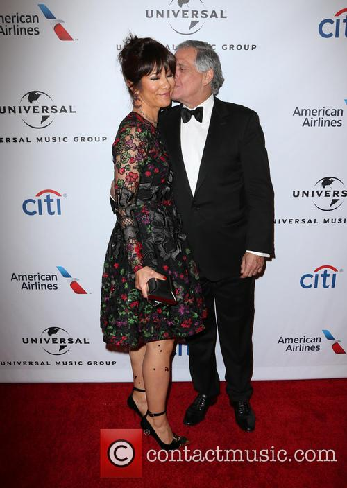 Julie Chen and Leslie Moonves 2