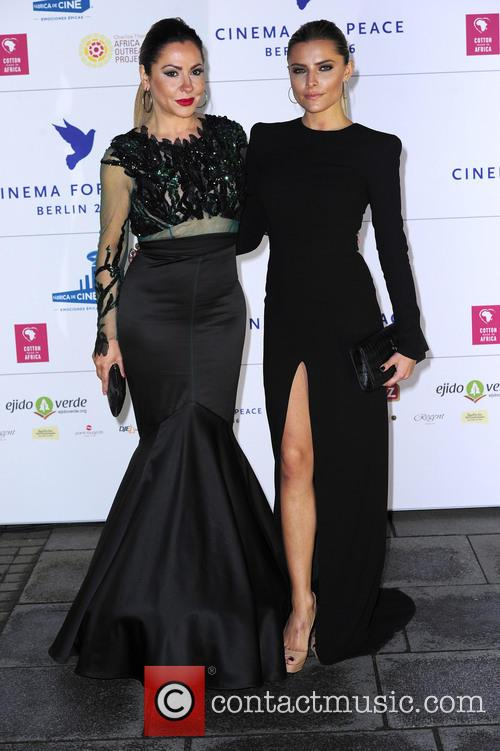 Simone Thomalla and Sophia Thomalla 1