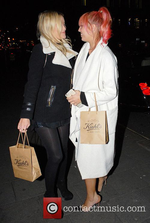 Laura Whitmore and Amber Le Bon 2