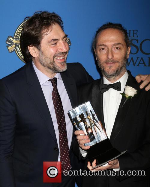 Javier Bardem and Emmanuel Lubezki 2