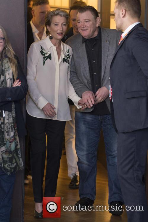 Emma Thompson and Brendan Gleeson 1