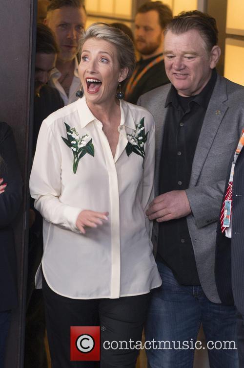 Emma Thompson and Brendan Gleeson 2