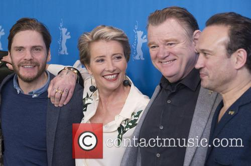 Daniel Bruhl, Emma Thompson, Brendan Gleeson and Vincent Perez 1