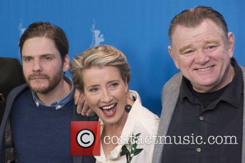 Daniel Bruhl, Emma Thompson and Brendan Gleeson 2