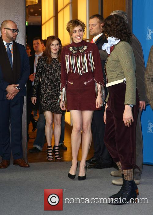 Greta Gerwig, Julianne Moore and Rebecca Miller 1