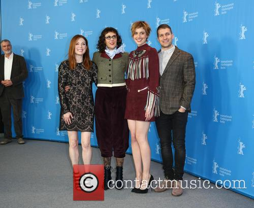 Greta Gerwig, Julianne Moore, Rebecca Miller and Damon Cardasis 4