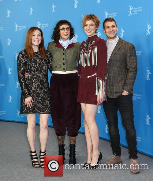 Greta Gerwig, Julianne Moore, Rebecca Miller and Damon Cardasis 5