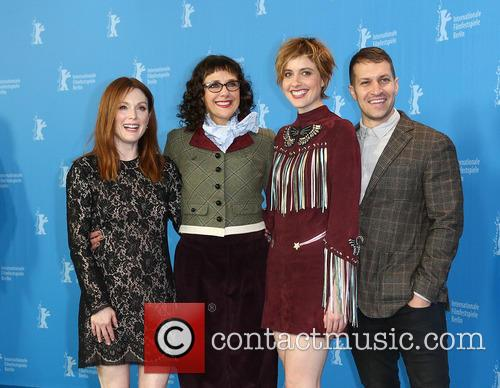 Greta Gerwig, Julianne Moore, Rebecca Miller and Damon Cardasis 6