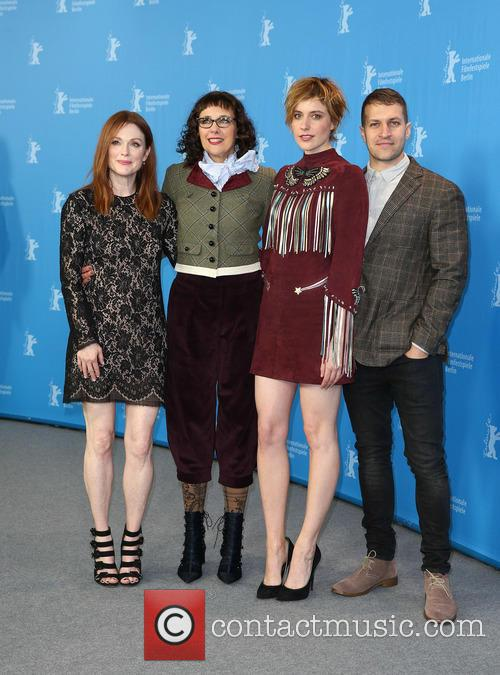 Greta Gerwig, Julianne Moore, Rebecca Miller and Damon Cardasis 8