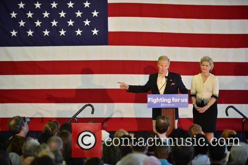 Bill Clinton, Senator Bill Nelson and Grace Cavert 4