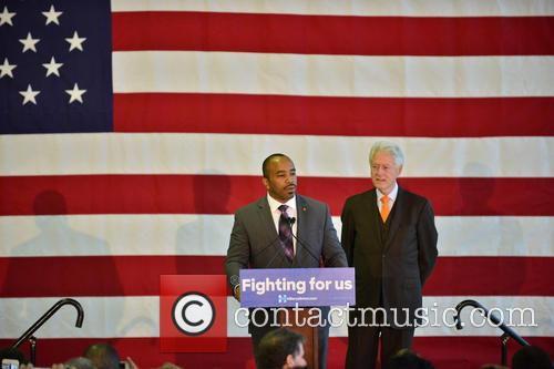 Florida State Rep. Bobby Powell and Bill Clinton 1