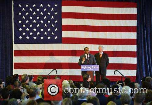 Florida State Rep. Bobby Powell and Bill Clinton 2