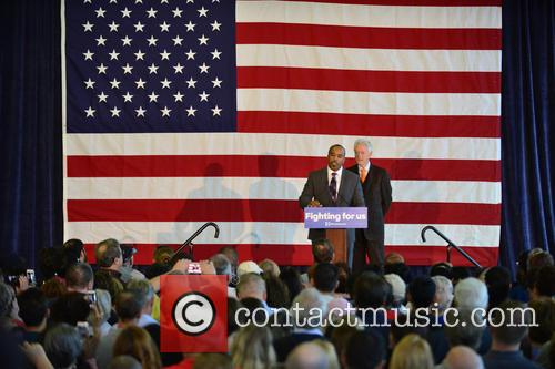 Florida State Rep. Bobby Powell and Bill Clinton 3