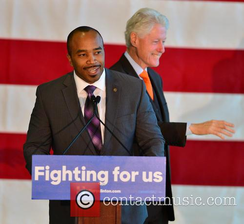 Florida State Rep. Bobby Powell and Bill Clinton 4