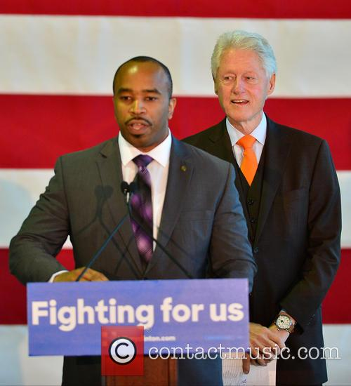 Florida State Rep. Bobby Powell and Bill Clinton 5