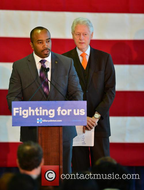 Florida State Rep. Bobby Powell and Bill Clinton 6