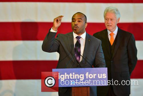 Florida State Rep. Bobby Powell and Bill Clinton 7