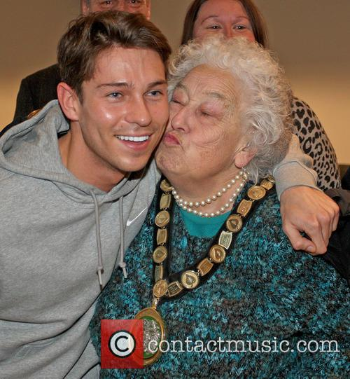 Joey Essex at the official opening of Base...