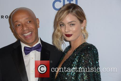 Russell Simmons and Lucy Mcintosh 1