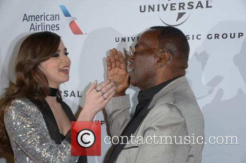 Hailee Steinfeld and Randy Jackson 3