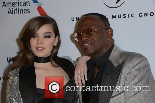 Hailee Steinfeld and Randy Jackson 4
