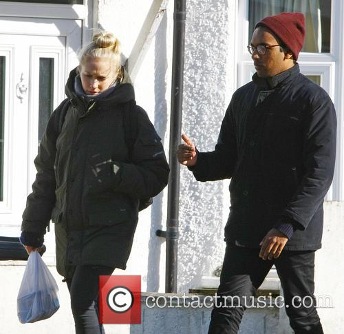 Eastenders, Maddy Hill and Himesh Patel 3