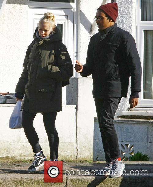 Eastenders, Maddy Hill and Himesh Patel 4
