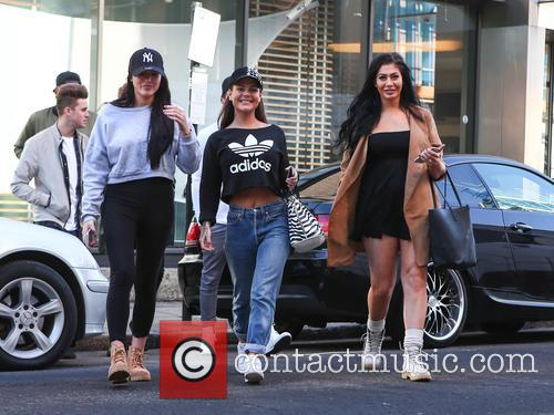 Cast of 'Geordie Shore' arrive at MTV