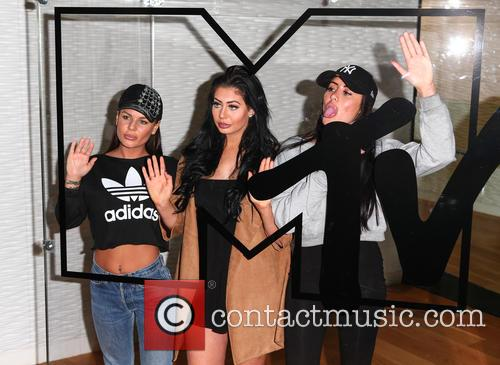 Marnie Simpson, Chloe Etherington and Chantelle Connolly 3