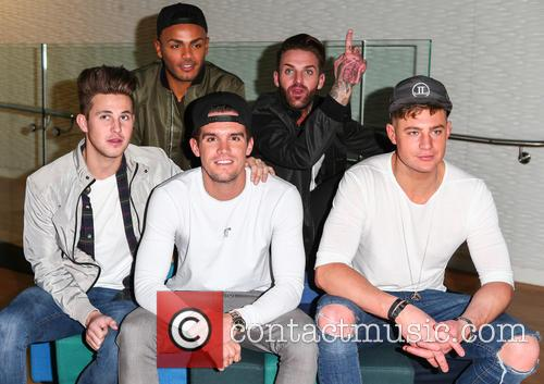Marty Mckenna, Nathan Henry, Gary Beadle, Aaron Chalmers and Scott Timlin 1