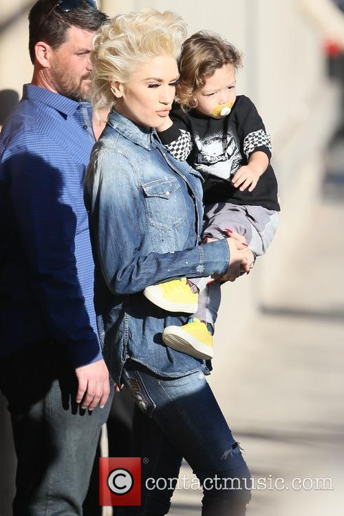 Gwen Stefani seen at the ABC studios