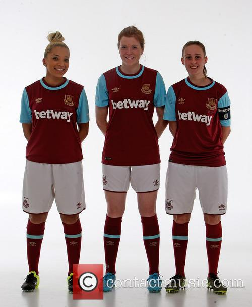 West Ham Ladies FC studio makeover