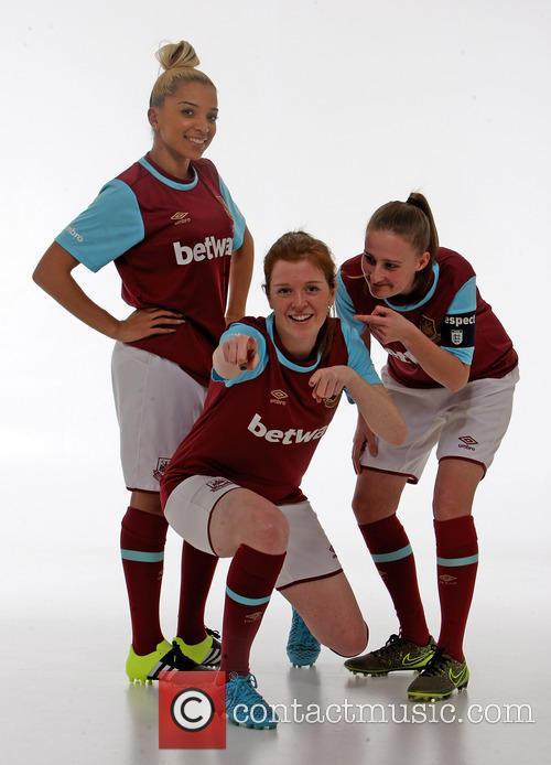 Whitney Locke, Hannah Wheeler and Katie Bottom. 2
