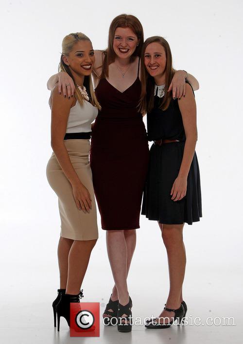 Whitney Locke, Hannah Wheeler and Katie Bottom. 7