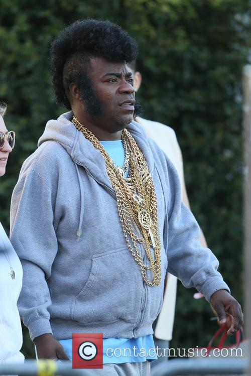 Mike Tyson and Tracy Morgan seen dressed as...