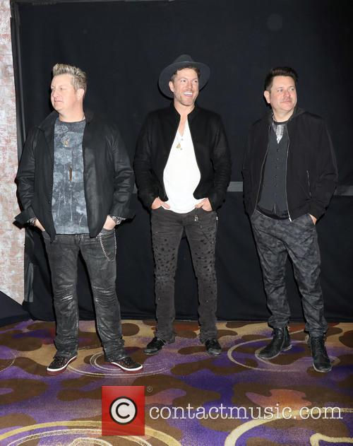 Rascal Flatts, Gary Levox, Joe Don Rooney and Jay Demarcus 1