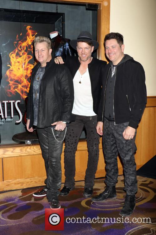 Rascal Flatts, Gary Levox, Joe Don Rooney and Jay Demarcus 6