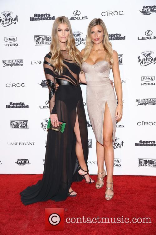 Nina Agdal and Samantha Hoopes 2