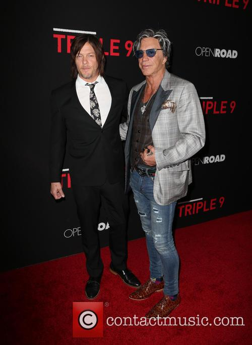 Norman Reedus and Mickey Rourke 2