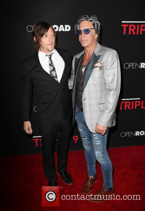 Norman Reedus and Mickey Rourke 3