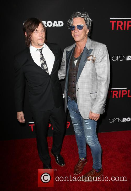 Norman Reedus and Mickey Rourke 4