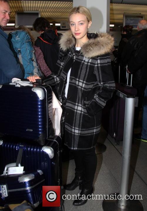 Sarah Gadon flies out of Berlin