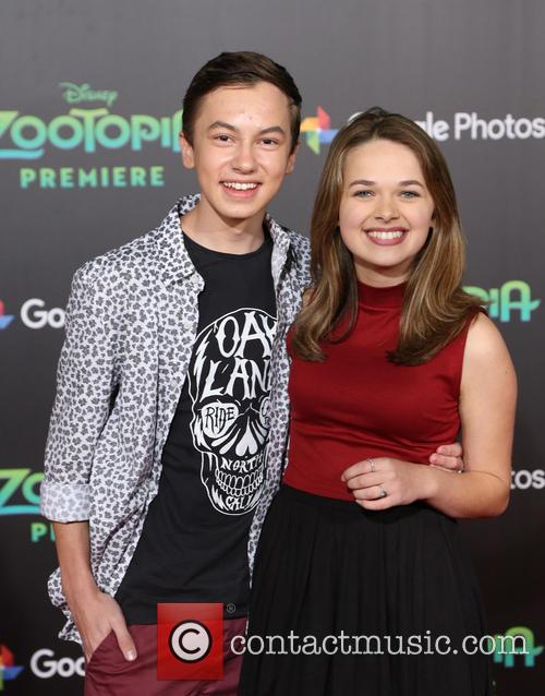 Walt Disney, Hayden Byerly and Alyssa Jirrels 10
