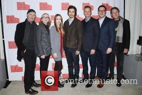Ed Harris, Amy Madigan, Taissa Farmiga, Nat Wolff, Paul Sparks, Rich Sommer and Larry Pine 8