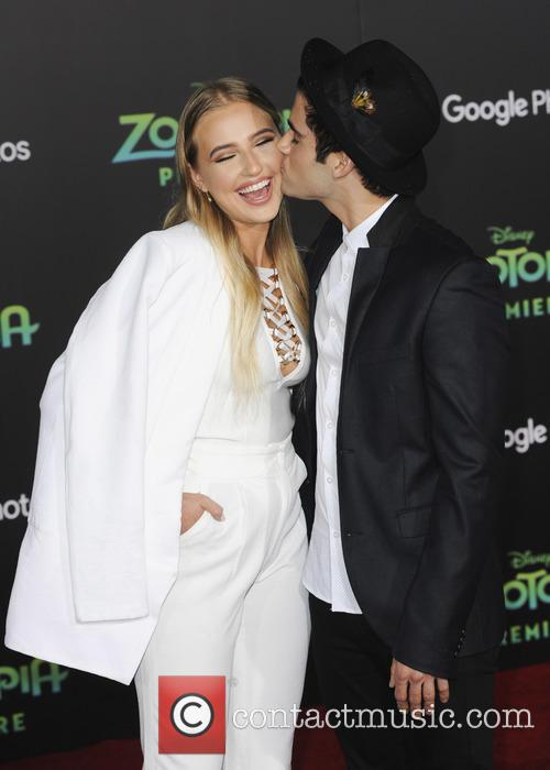 Veronica Dunne and Max Ehrich 2