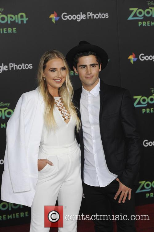 Veronica Dunne and Max Ehrich 3
