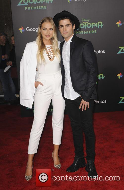 Veronica Dunne and Max Ehrich 4